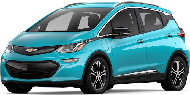 chevy bolt OASIS BLUE