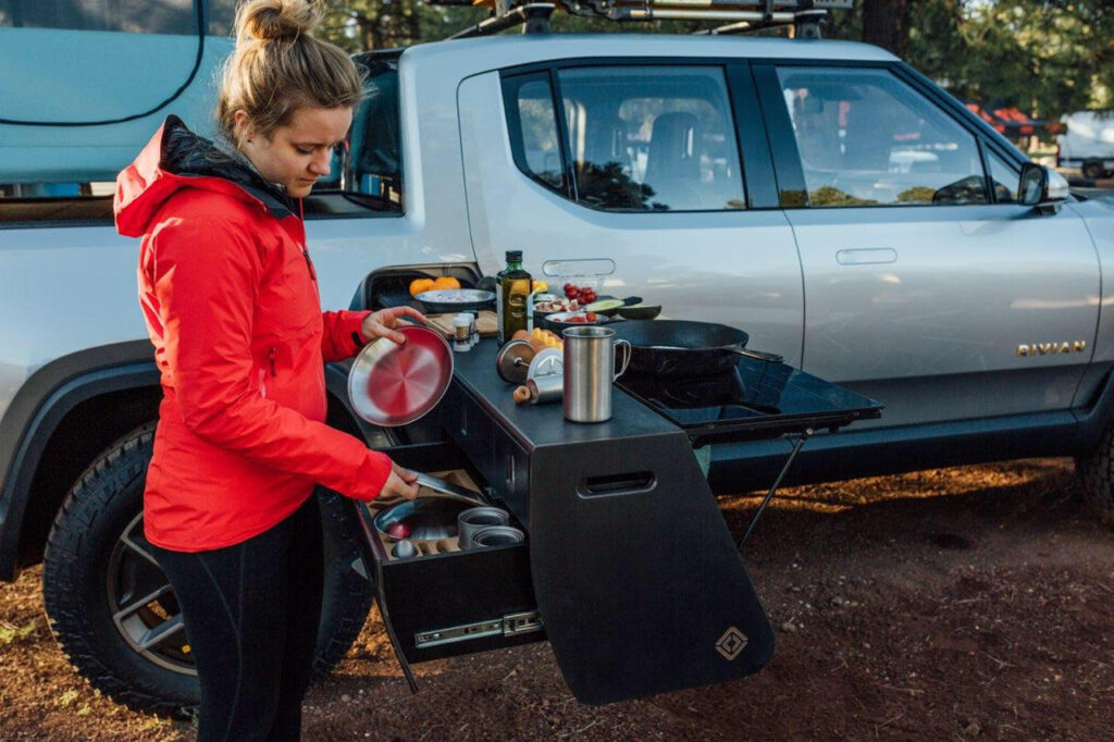 Rivian R1T and R1S Portable Kitchen