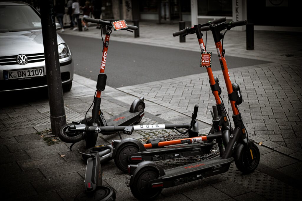 Electric Scooter E-Scooter Vehicle Roller