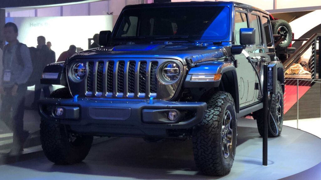 Jeep Wrangler Electric