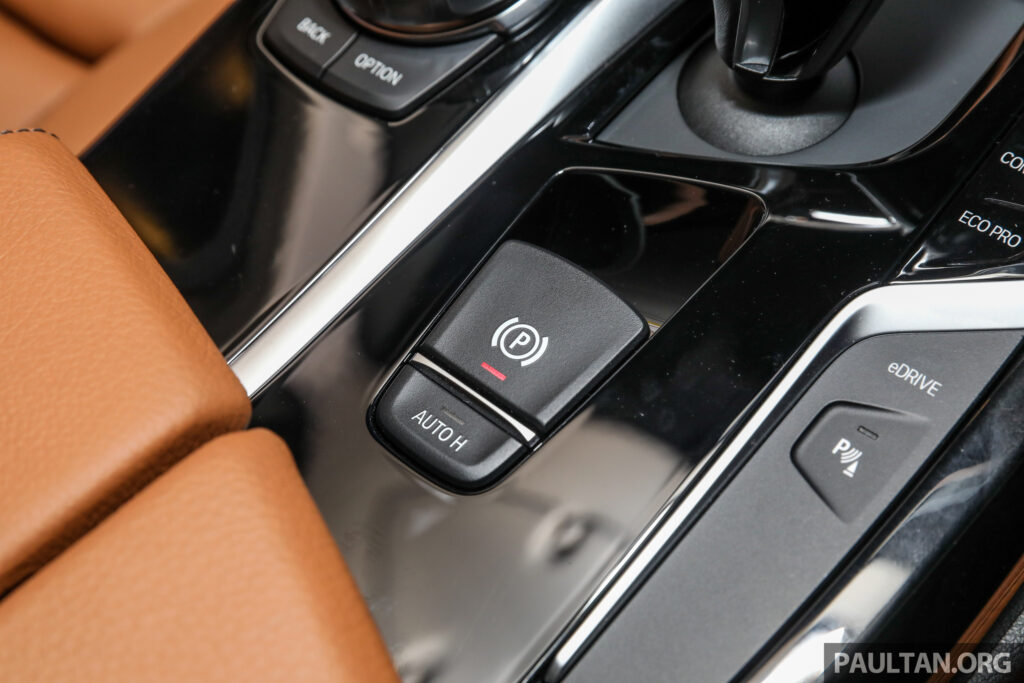 auto H button - BMW 530e