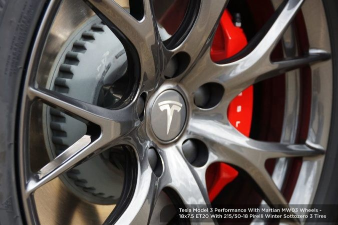 martian wheels for testla model 3