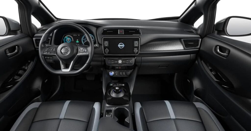 2020 Nissan Leaf-Interior