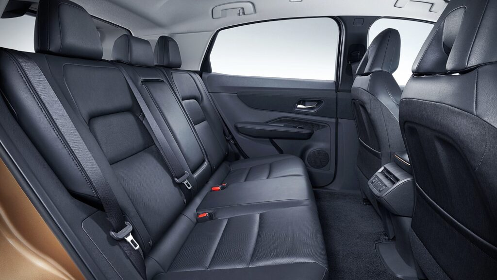 2021 Nissan Ariya Interior - Back Seats