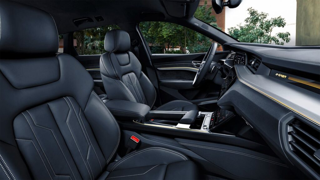 Audi e-Tron Review- Interior