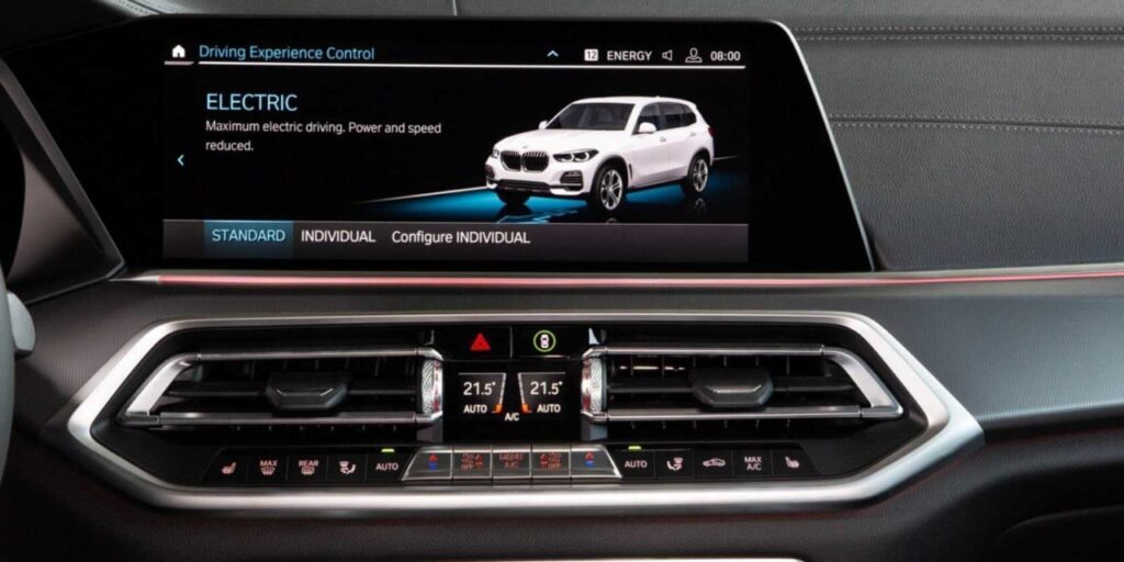 BMW X5 Plug-in Hybrid-Infotainment