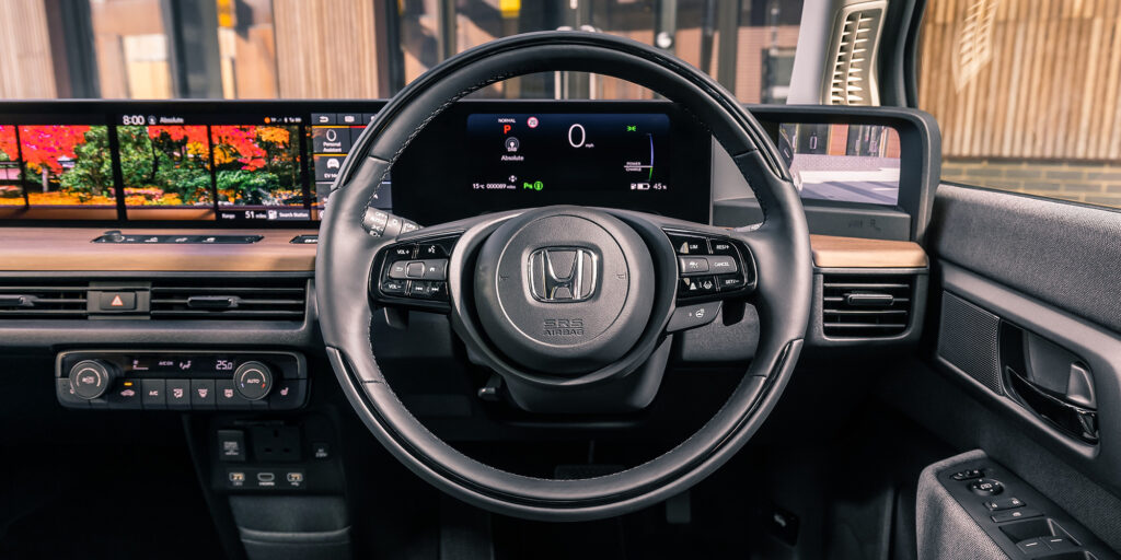 Honda e Electric-Interior