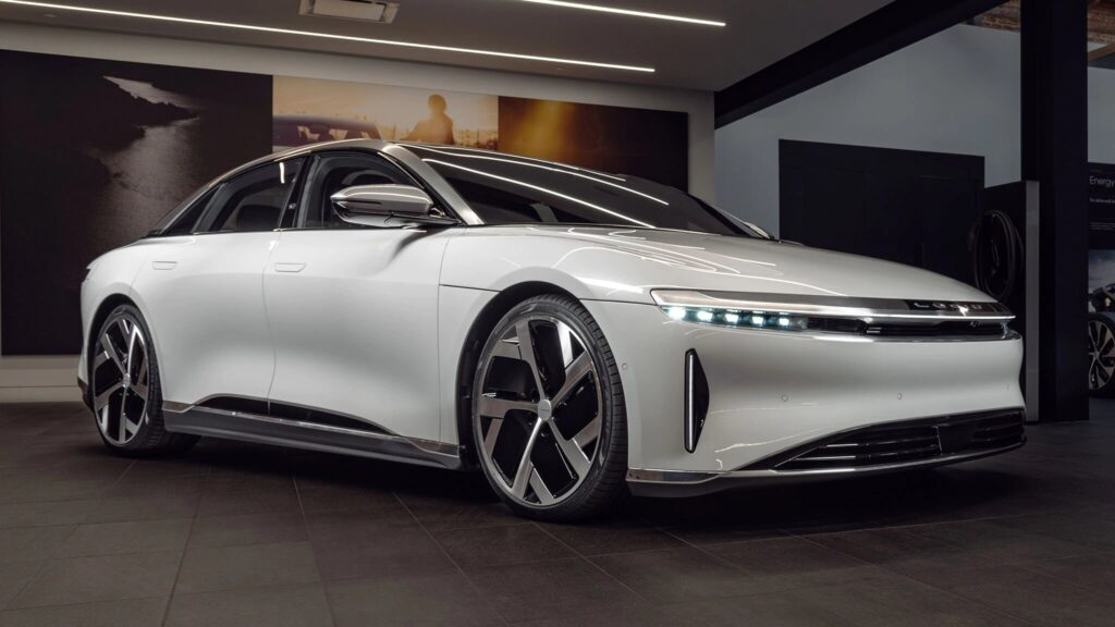 Latest Electric Car Releases for 2021-Lucid Air