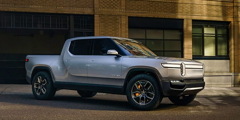 Latest Electric Car Releases for 2021-Rivian R1T