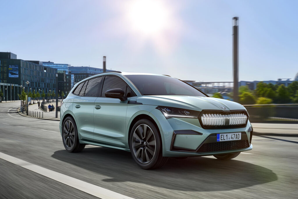 Latest Electric Car Releases for 2021-Skoda Enyaq iV
