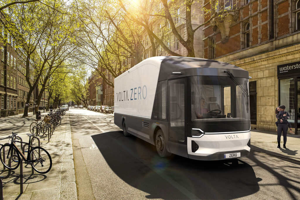 Latest Electric Car Releases for 2021-Volta Truck