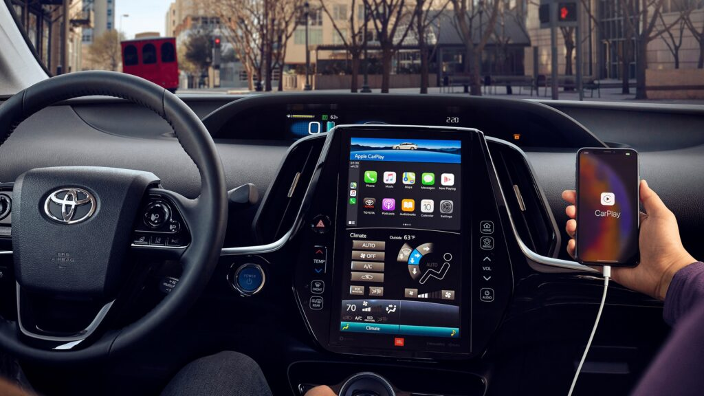 Toyota Prius Prime Interior and Infotainment