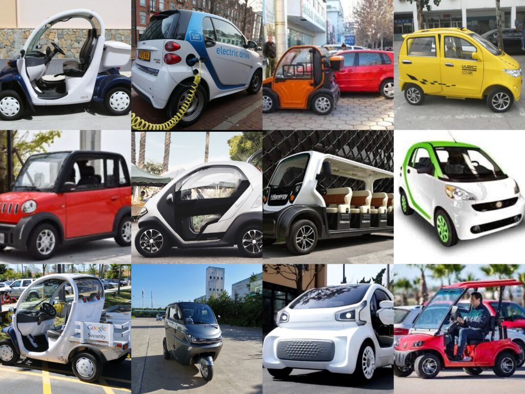 LSEV - Low-Speed Electric Vehicle Examples