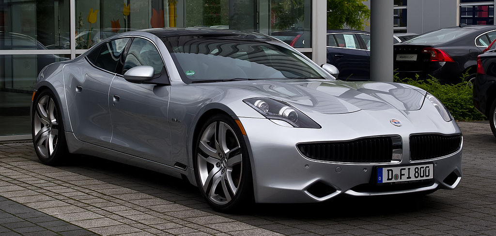 The discontinued Fisker Karma was an extended-range electric vehicle.