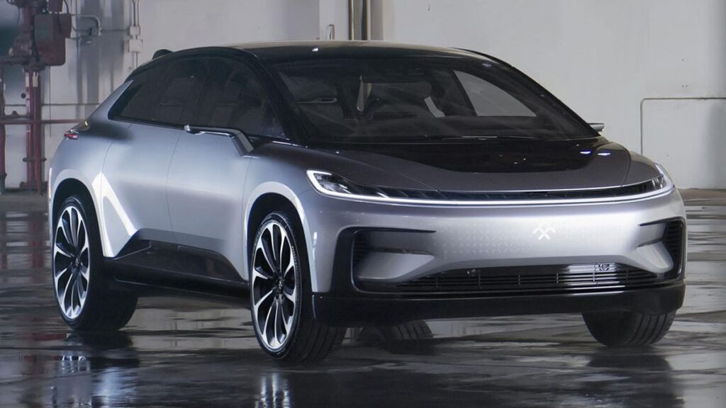 Finest Electric Car Arrivals from America - Faraday Future 91