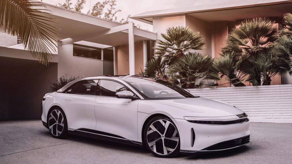 Finest Electric Car Arrivals from America - Lucid Air
