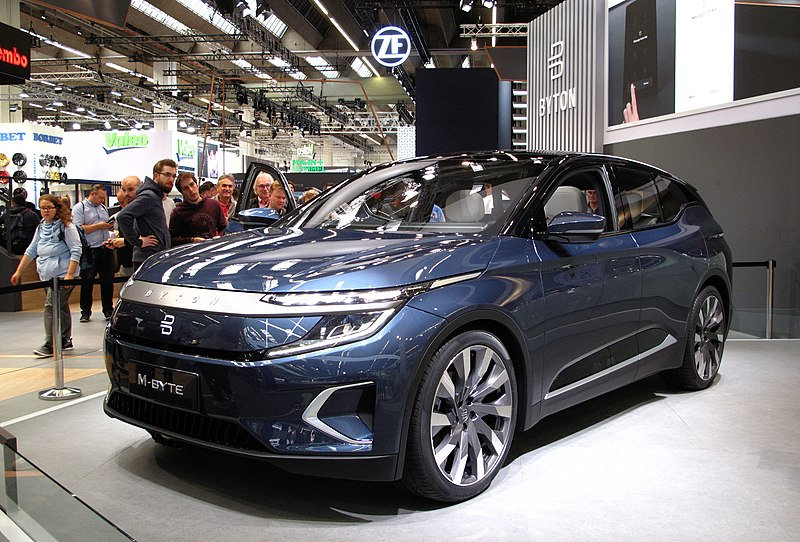 Most Interesting EVs from China - Byton M-Byte