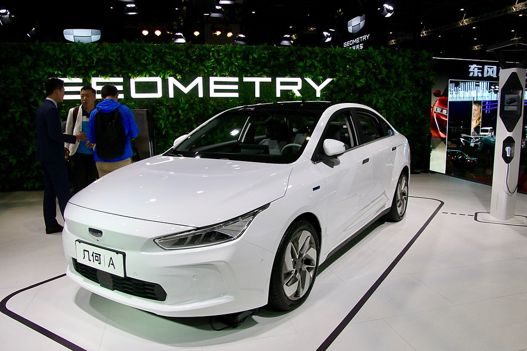 Most Interesting EVs from China - Geely Geometry A