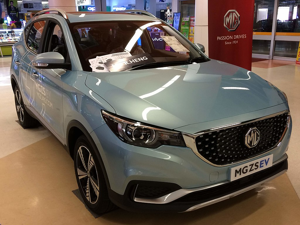 Most Interesting EVs from China - MG ZS EV