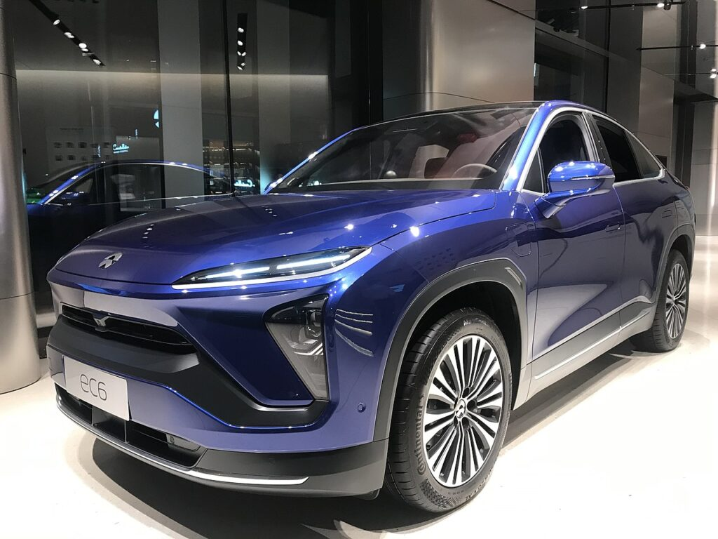Most Interesting EVs from China - NIO EC6