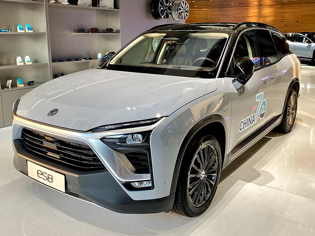 Most Interesting EVs from China -NIO ES8