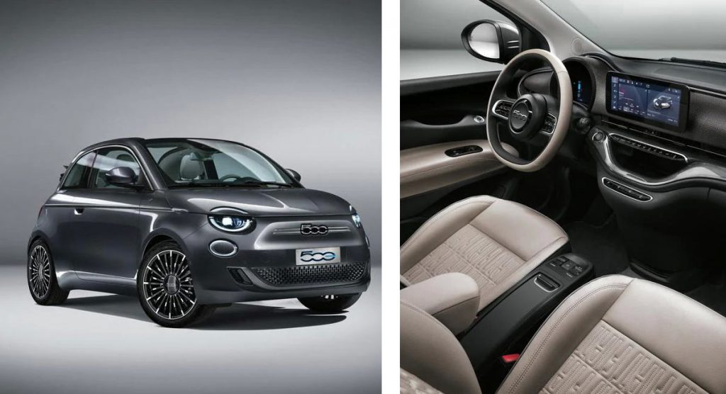 2021 Fiat 500 Fully Electric Design