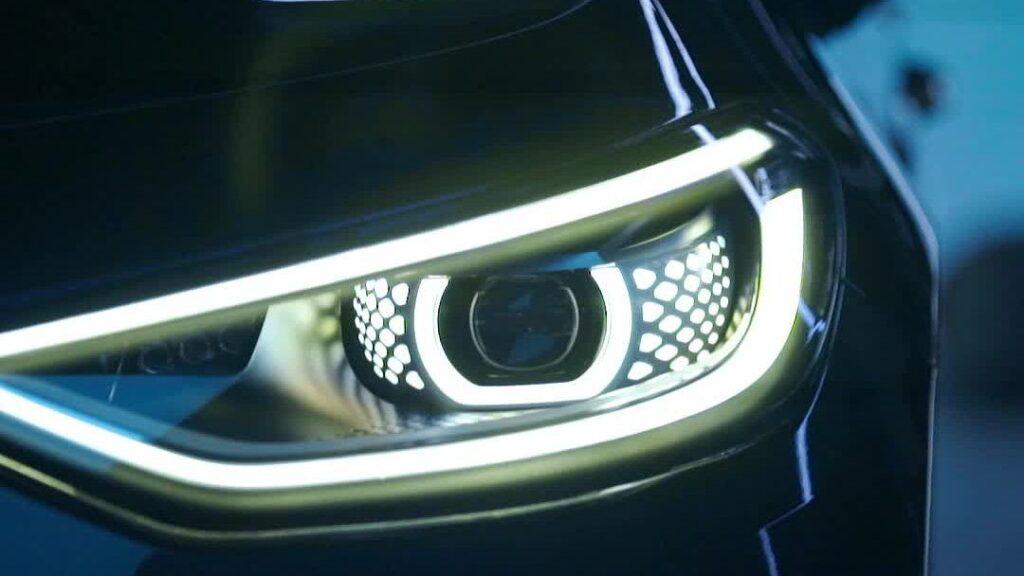 Front LED lamps VW ID3