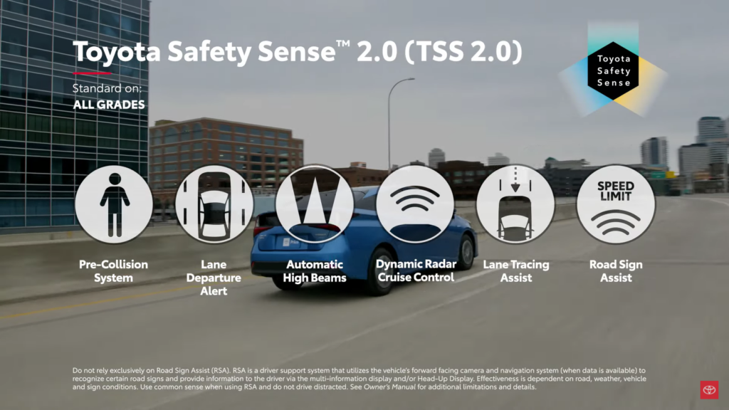 2021 Toyota Prius Safety Features
