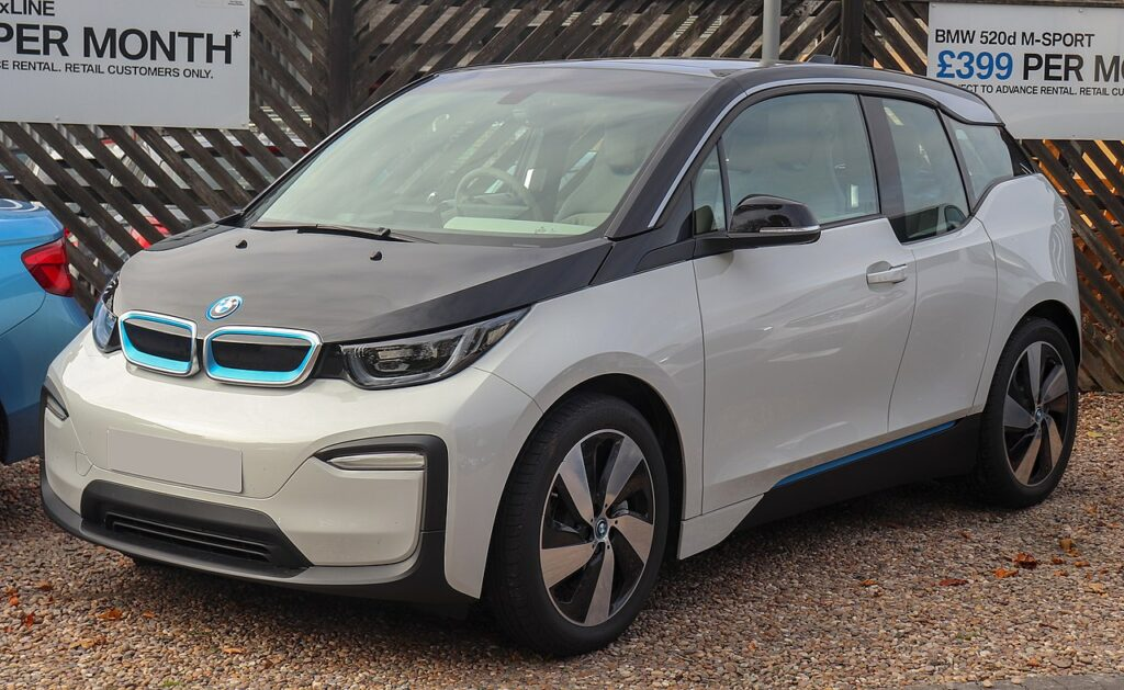 Top Fastest Electric Cars of 2021 - BMW i3