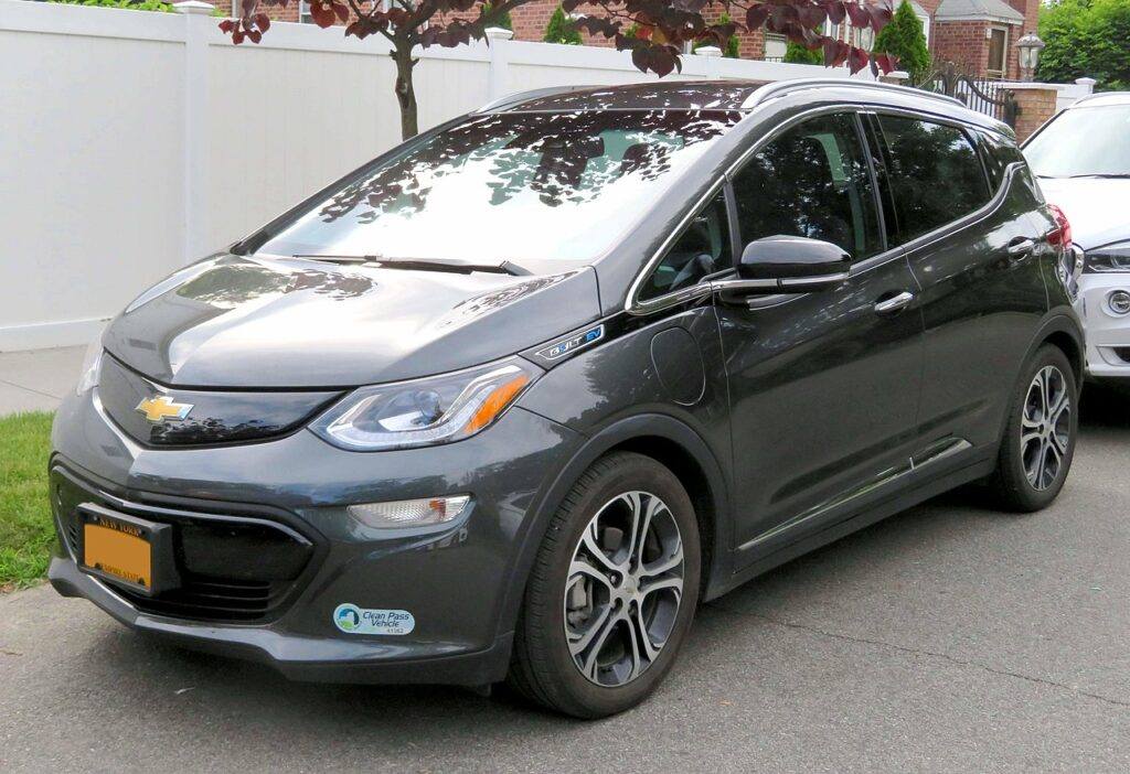 Top Fastest Electric Cars of 2021 -  Chevrolet Bolt