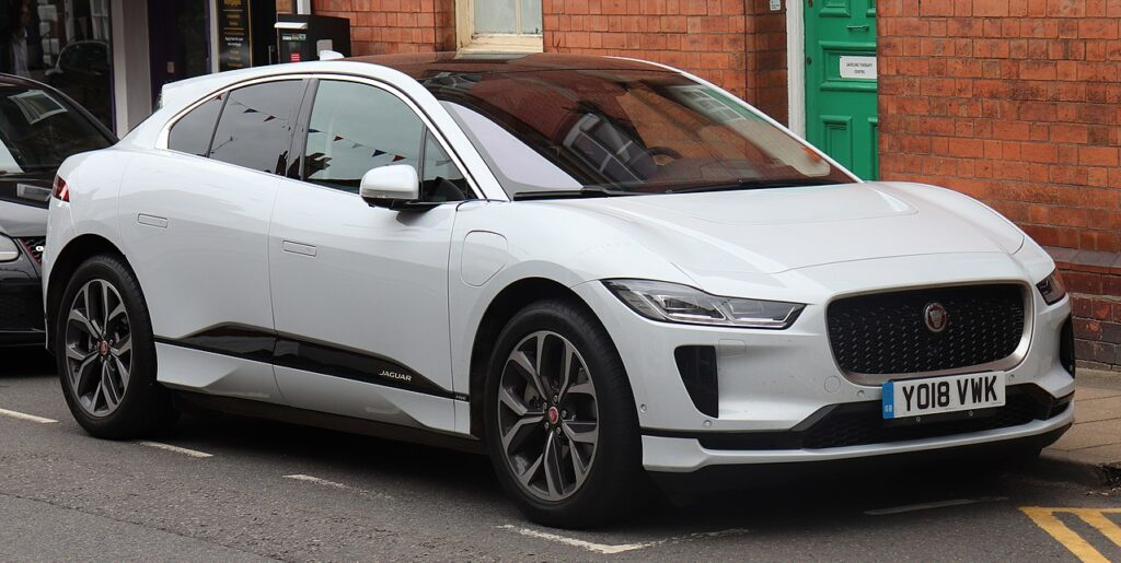 Top Fastest Electric Cars of 2021 - Jaguar I-Pace