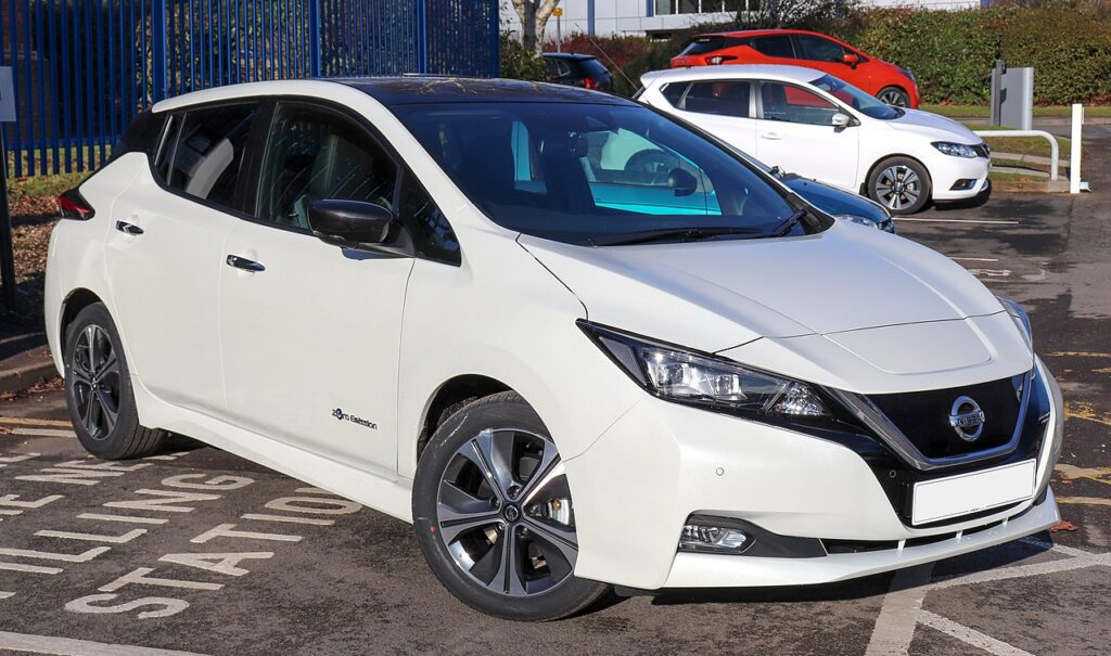 Top Fastest Electric Cars of 2021 -  Nissan Leaf Plus
