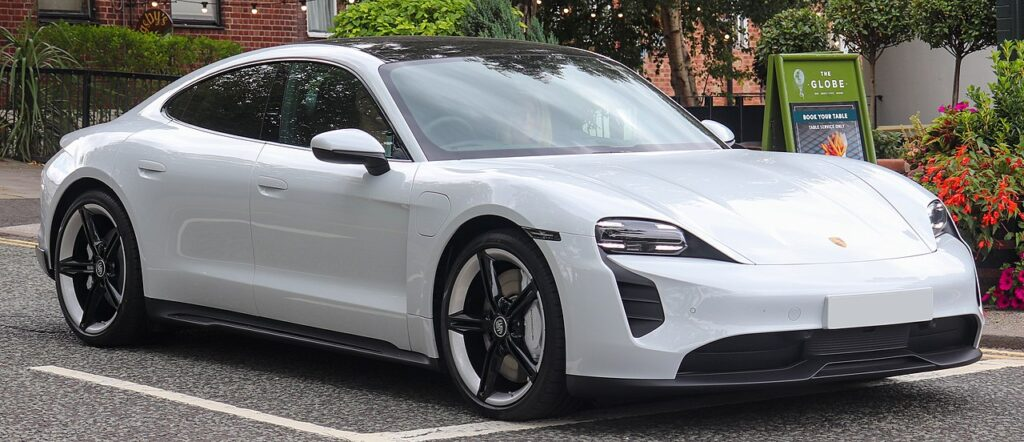 Top Fastest Electric Cars of 2021 - Porsche Taycan 4S