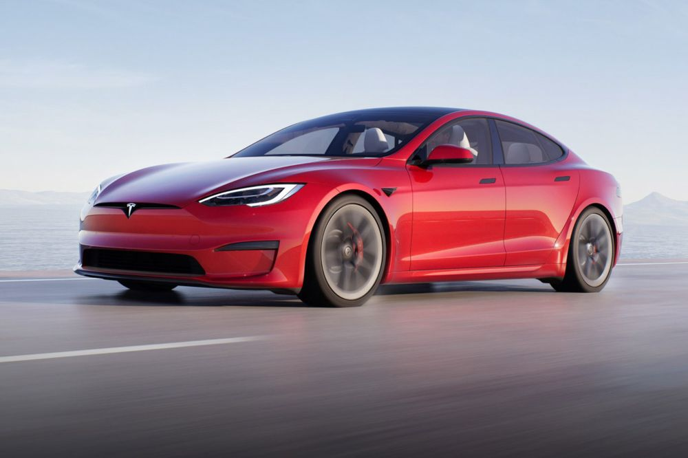 Top Fastest Electric Cars of 2021 - Tesla Model S Plaid