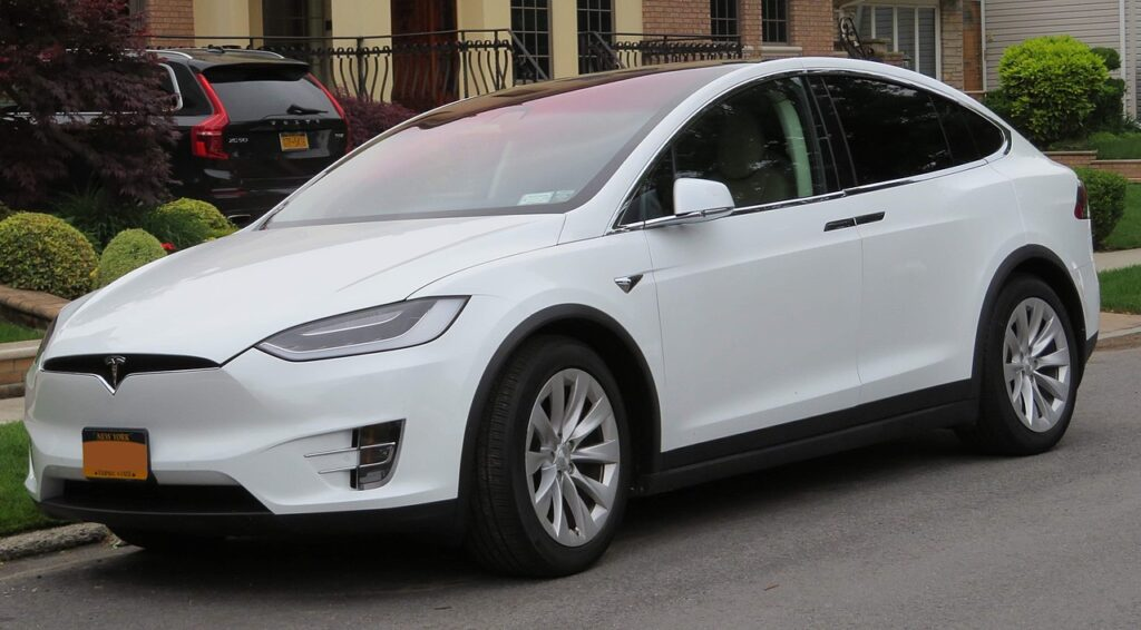 Top Fastest Electric Cars of 2021 - Tesla Model X