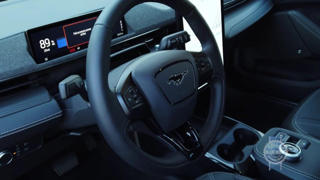 Mach-E Coupe Interior and Spacing and Styling